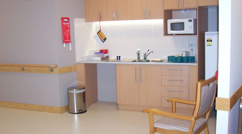 Cooinda Age Care kitchen