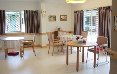 Cooinda Age Care living area