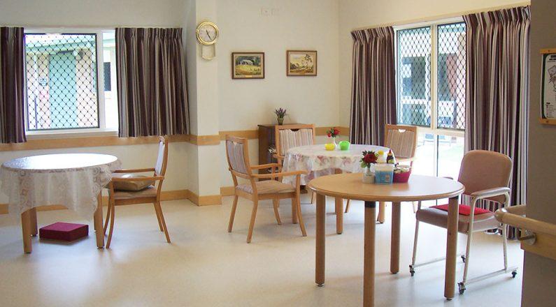 Cooinda Age Care living area