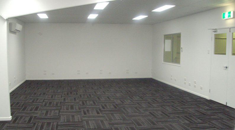 QGC Shed Repurpose lighting